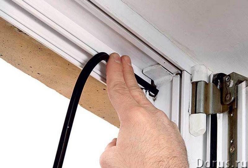 Замена уплотнителя на пластиковых окнах и дверях в Омке - Строительные услуги - Заменим уплотнительн..., фото 1