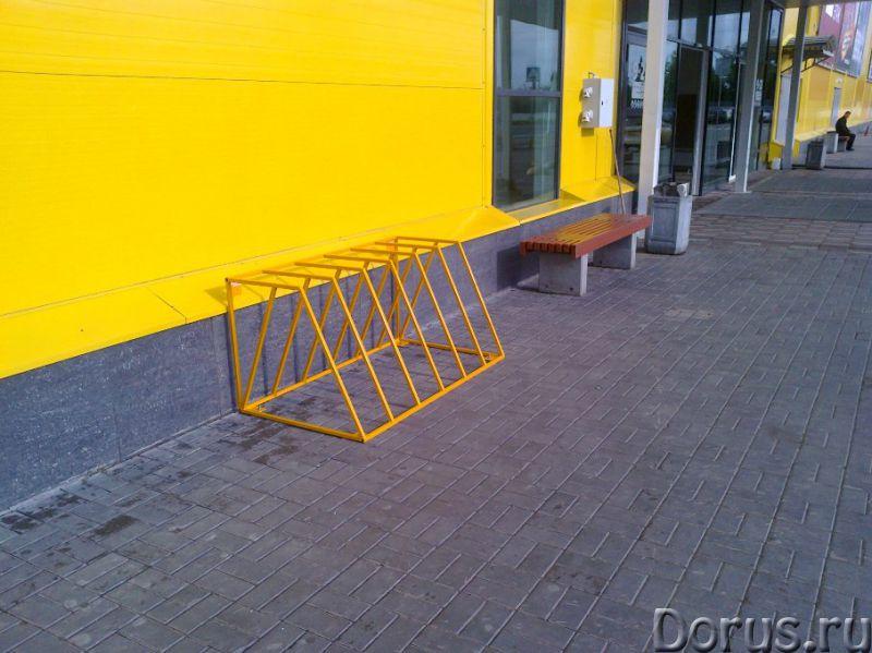 Велопарковки - Металлопродукция - Изготавливаем и реализуем велопарковки под любое количество велоси..., фото 1