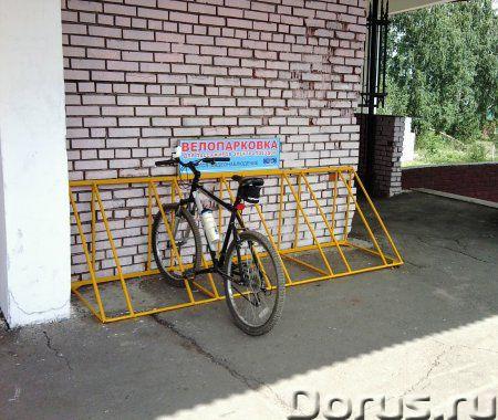 Велопарковки - Металлопродукция - Изготавливаем и реализуем велопарковки под любое количество велоси..., фото 2