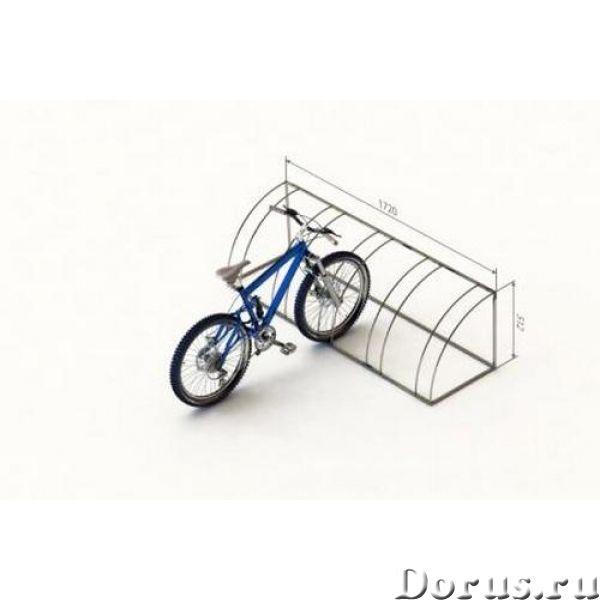 Велопарковки - Металлопродукция - Изготавливаем и реализуем велопарковки под любое количество велоси..., фото 3